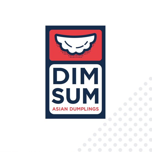 DIM SUM Asian Dumplings Logo