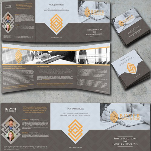 Create a World Class Brochure for Boyer Consulting
