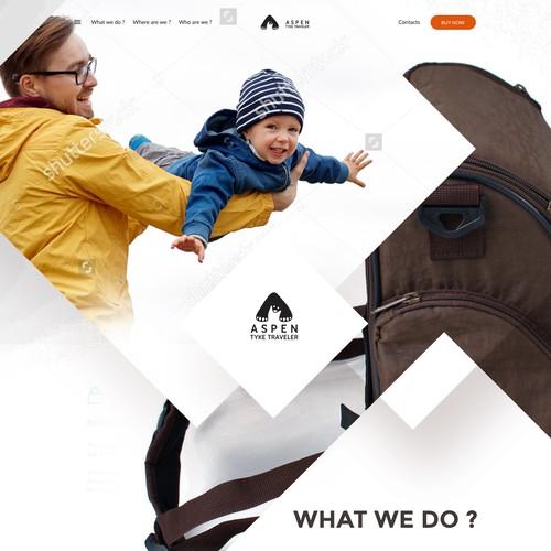 ASPEN | Website for smart parenting product