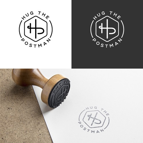 HUG THE POSTMAN: Create a simple and stylish logo for us