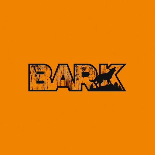Masculine logo for BARK equipment
