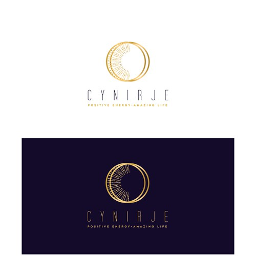 "Create a ""Positive Energy"" logo for Cynirje"