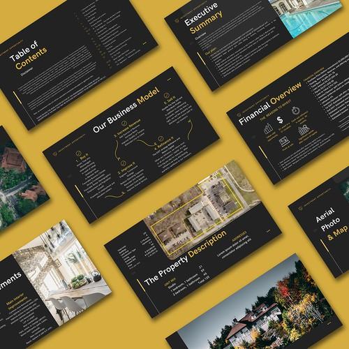 Company Presentation Design