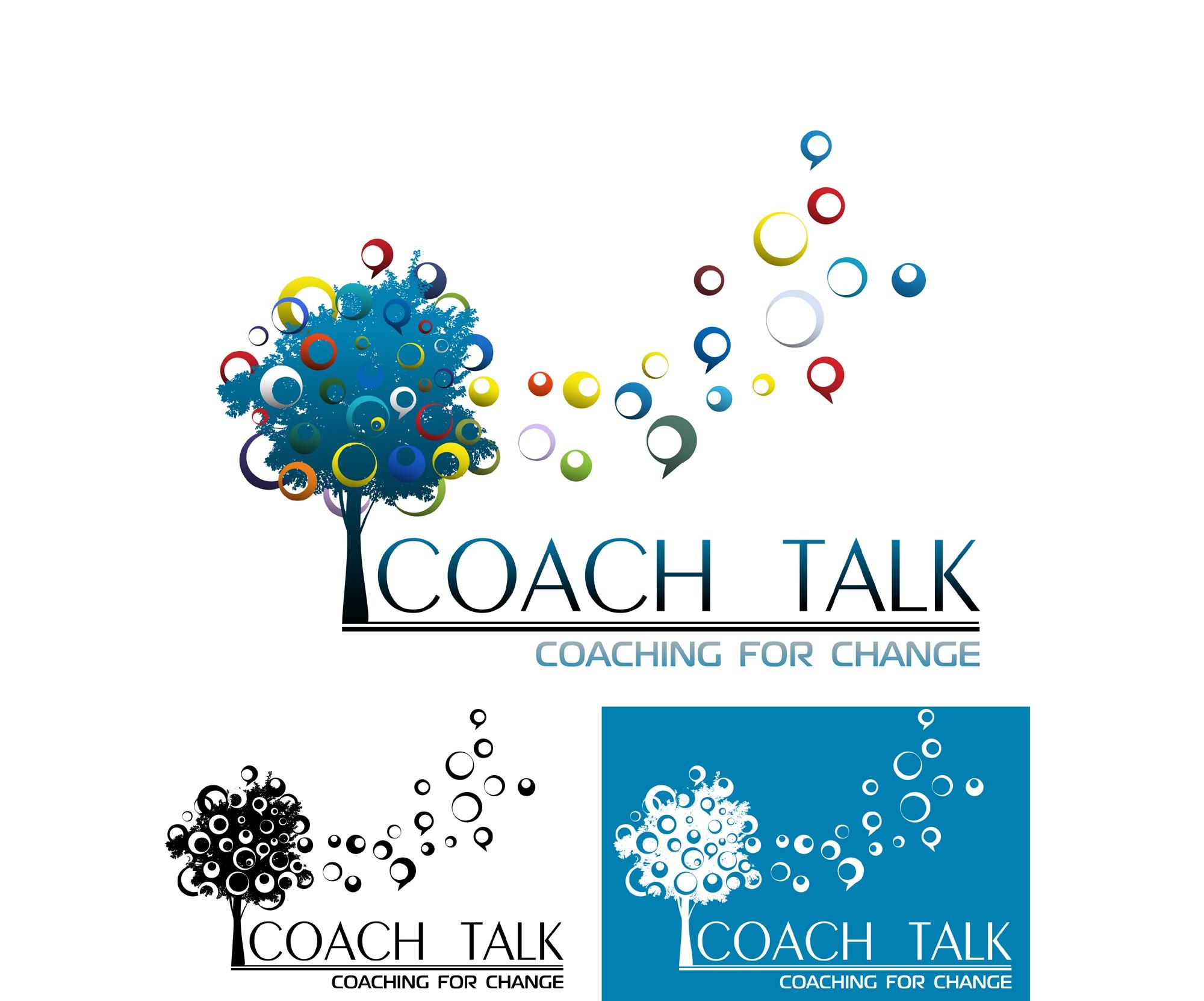 Help Coach Talk with a new logo