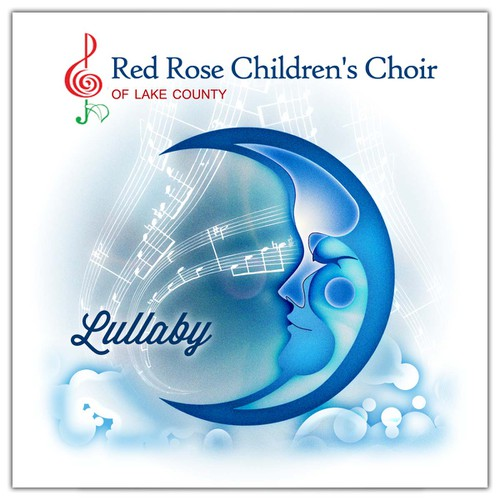 packaging or label design for Red Rose Children's Choir of Lake County