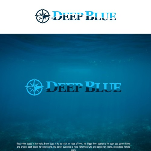 Deep Blue for Fishing Boat