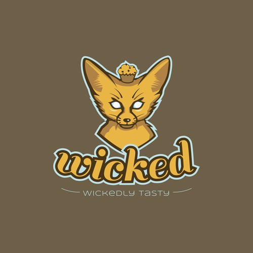 Wicked hipster logo for a wicked company