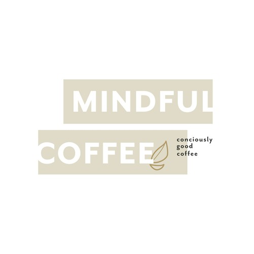 Clean Logo for a Mindful Coffee Company