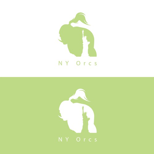 Logo Concept for NY Orcs Game