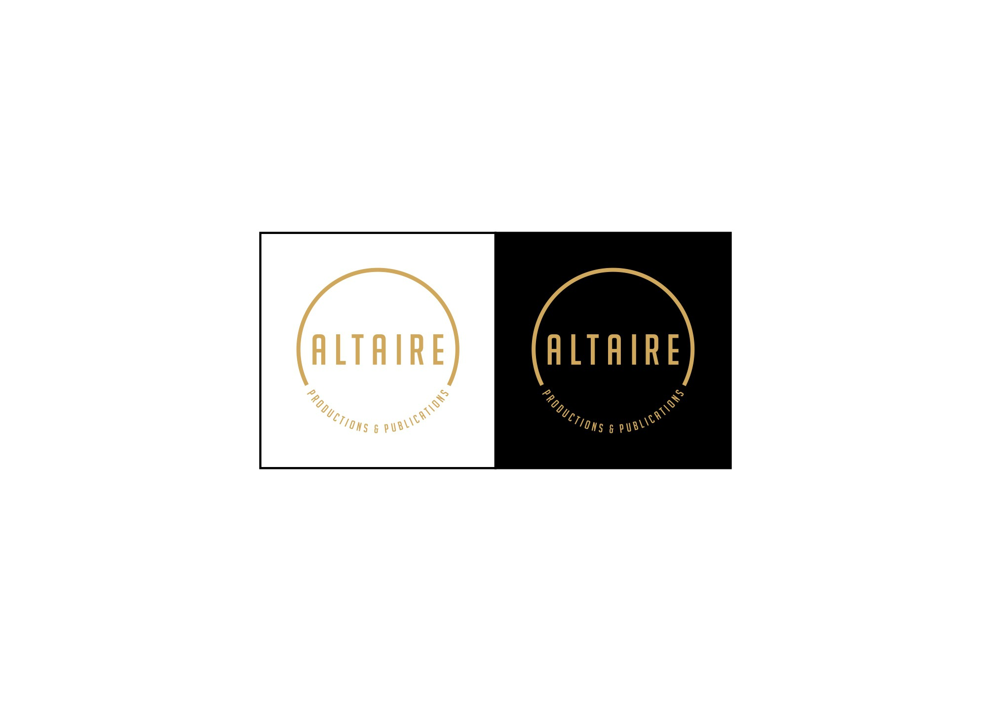ALTAIRE PRODUCTIONS AND PUBLICATIONS needs a new logo