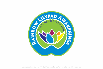 Rainbow Lilypad Awakenings needs a new logo and business card
