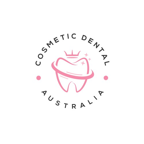 luxury looking logo for a dental product startup