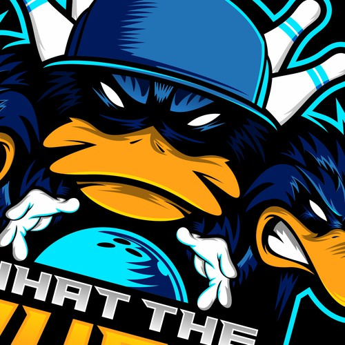 What the Duck Logo