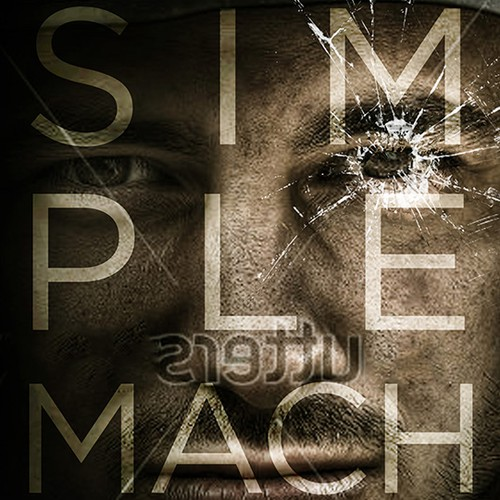 """Book Cover, war, madness, delta force """"Simple Machines"""""""