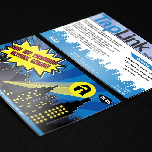TapLink Postcard Design