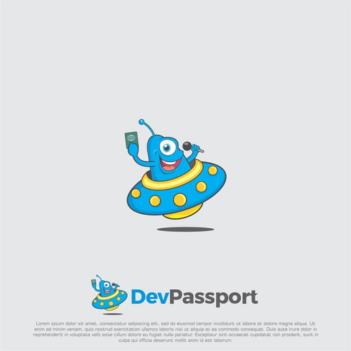 Logo concept for devpassport