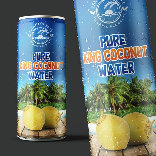 King Coconut Can design
