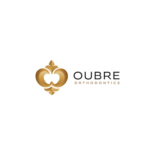 Creative logo for Oubre Orthodontics
