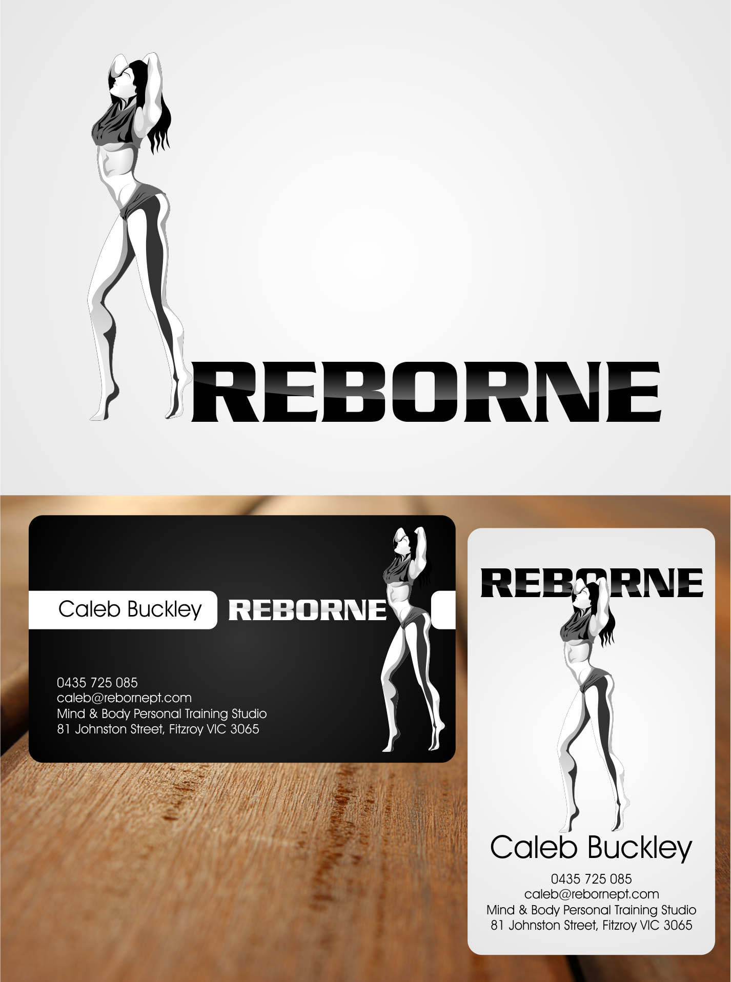 New logo and business card wanted for Reborne