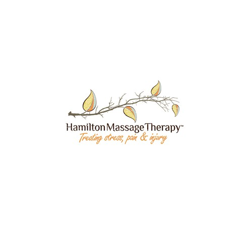 Help Hamilton Massage Therapy with a new logo