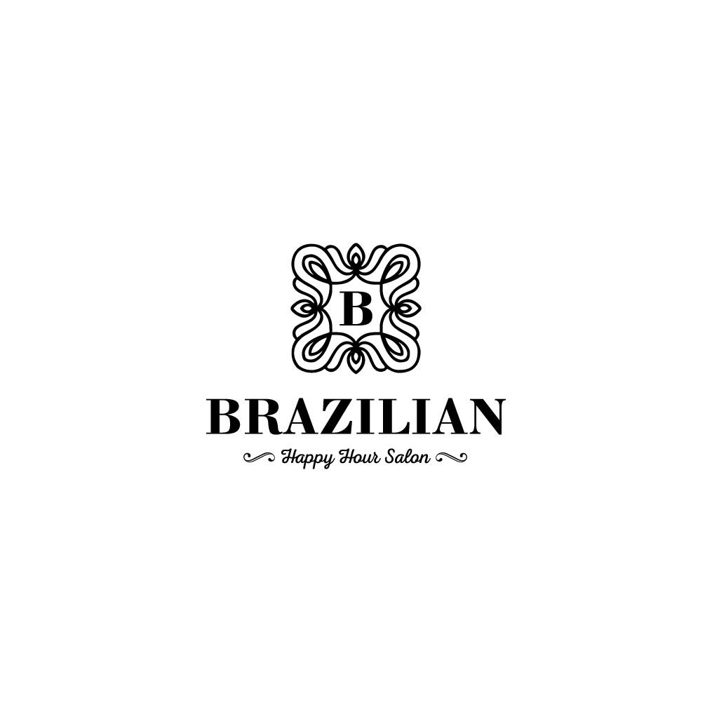 Brazilian hair salon needs a logo