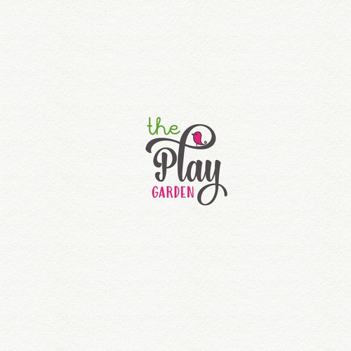 Logo for the play garden