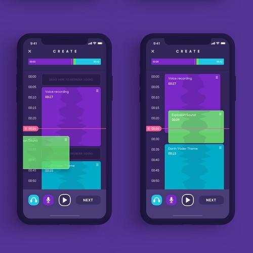 UI/UX Design for Social Audio App (cont.)
