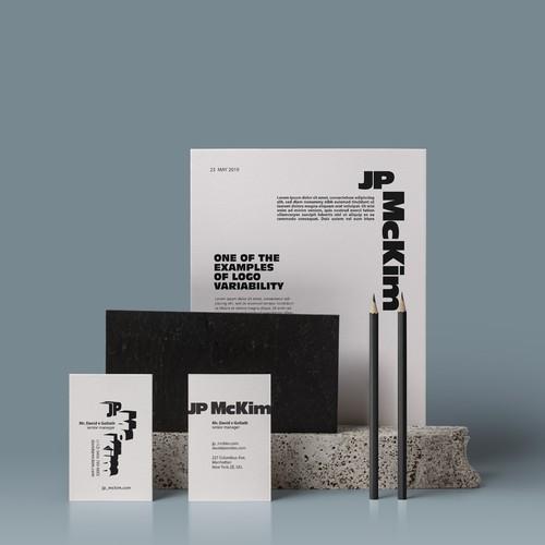 logo & identity JP McKim