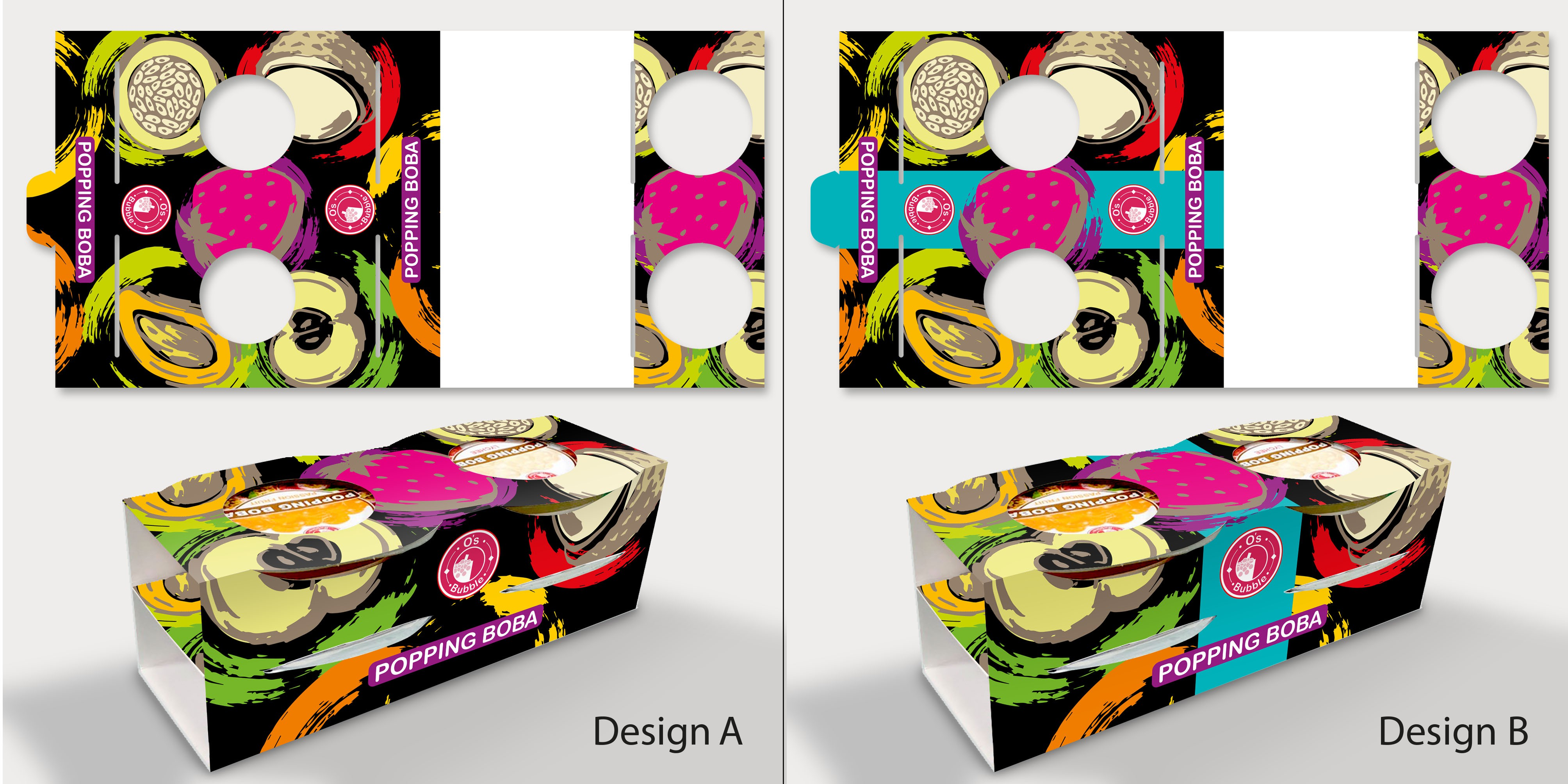 Popping Boba Package Design