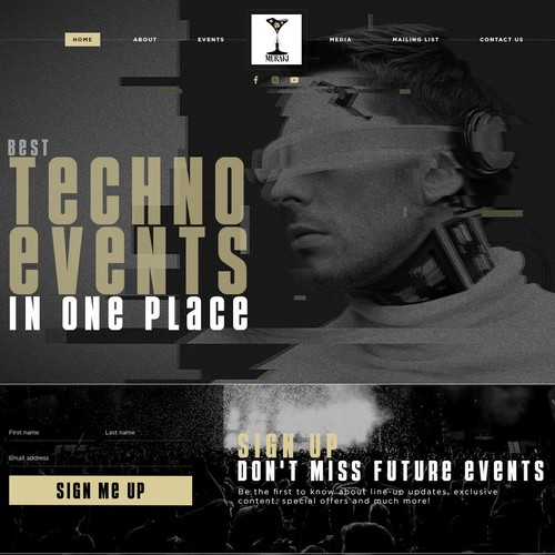 New techno promoter website!
