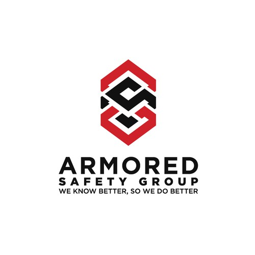 Strong logo for ARMORED SAFETY GROUP