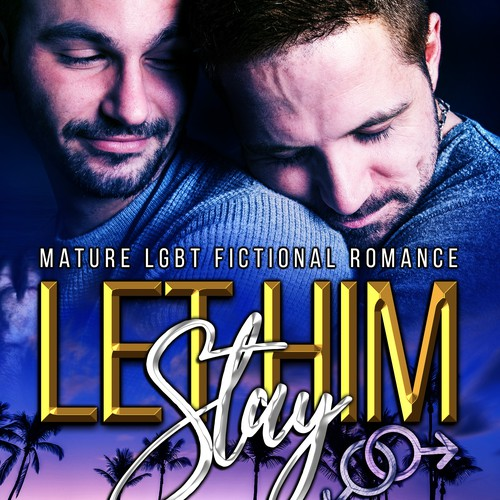 Book cover design - Let Him Stay by author Alejandro Marrero