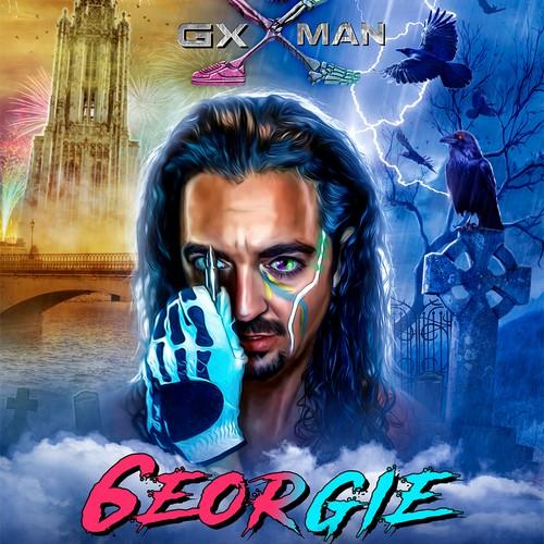 Georgie - Mond-Kugel-Farben
