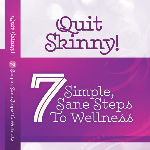 Design the cover of a book about 7 simple steps to wellness