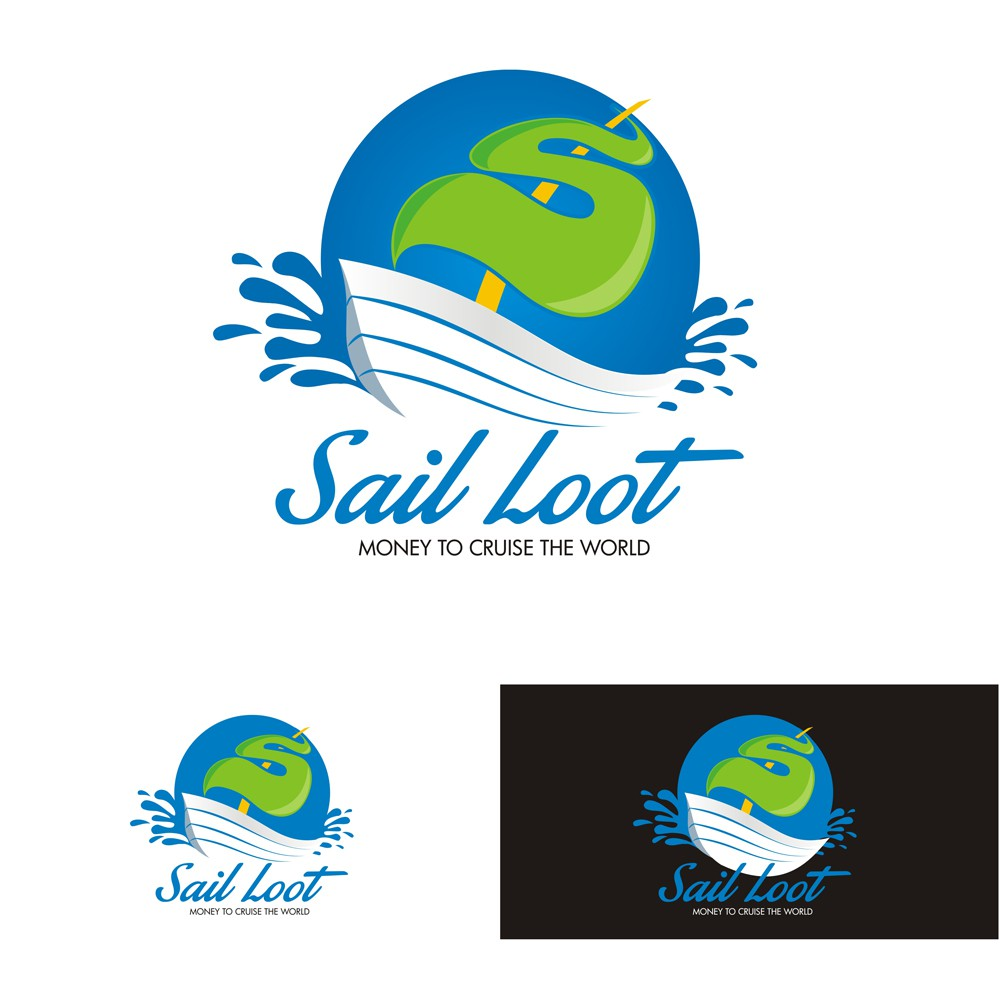 Create a Capturing  Modern Sailing and Traveling Funds Logo for Sail Loot