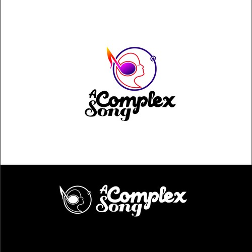 minimalist logo about song and connection