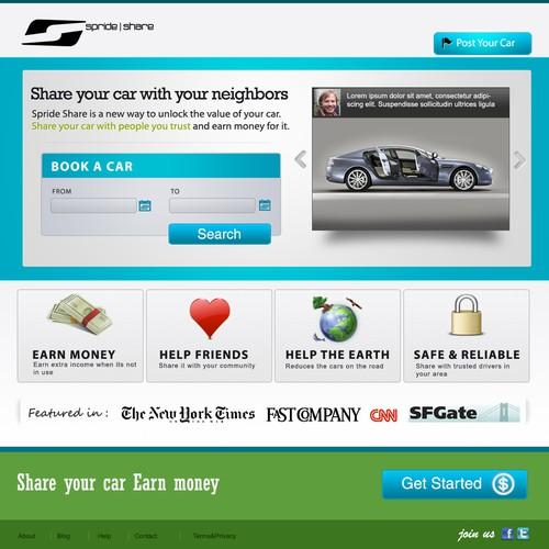 Car Sharing Web App