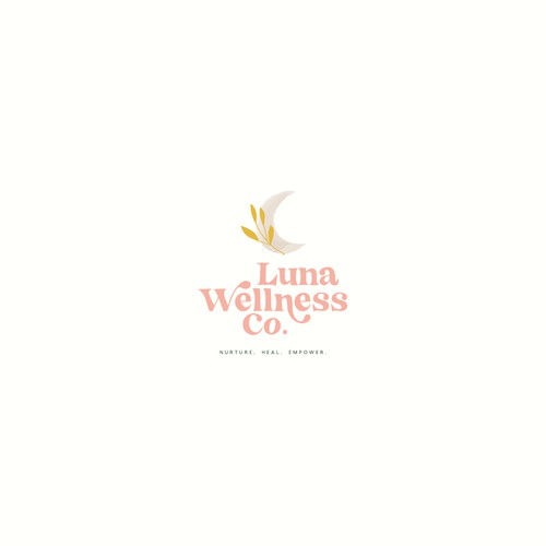 Logo Concept for Luna Wellness