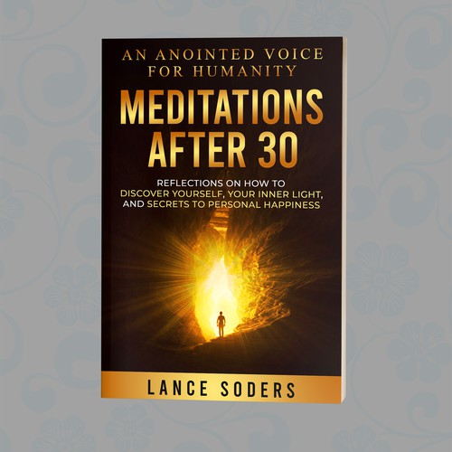Meditations book with detailed stock image