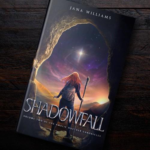 """Shadowfall"" Artwork (Sci-Fi Series)"