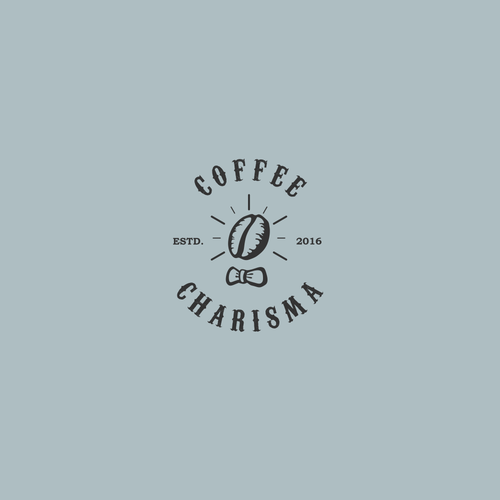 Vintage Logo for coffee business company: Coffee Charisma