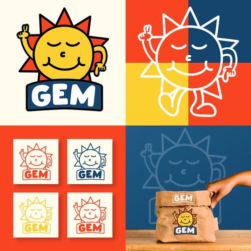 Gem Logo design