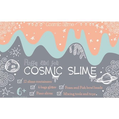 Cosmic Slime: front packaging