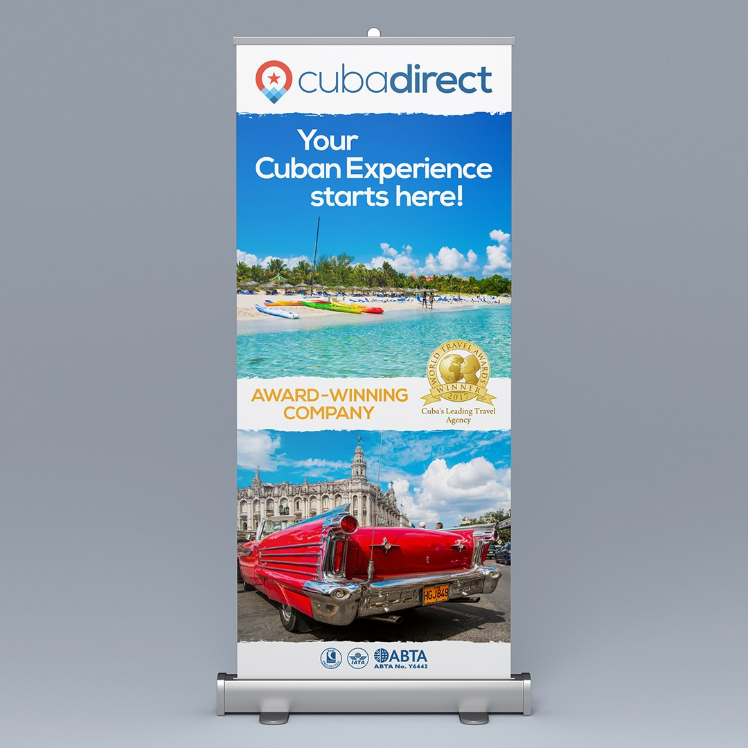 Cuba Direct Welcome Banner