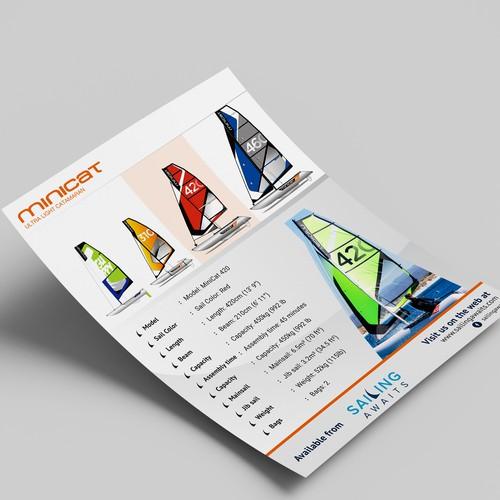 Saling Flyer Design