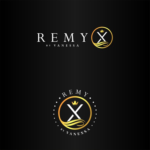 Remy X by Vanessa Logo Design