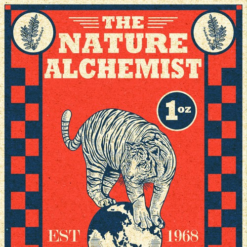 Nature Alchemist label