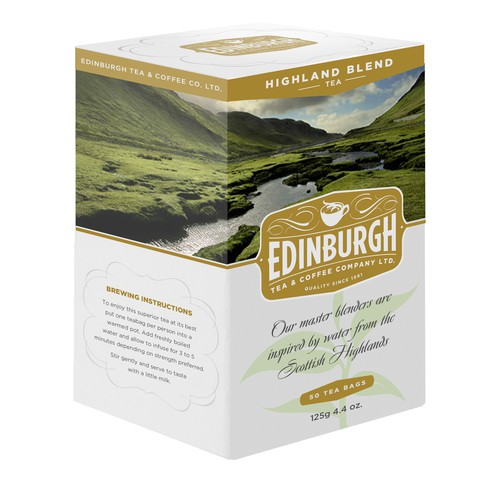 Edingburgh Tea & Coffee Co. Packaging
