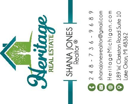Heritage Cards for Shana Jones