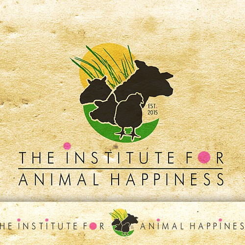Logo that empowers farm animal rescue & arts-fueled compassion